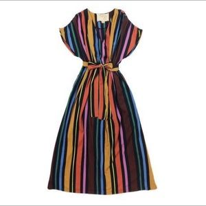 Ace&Jig Fete Dress in Ribbon Candy